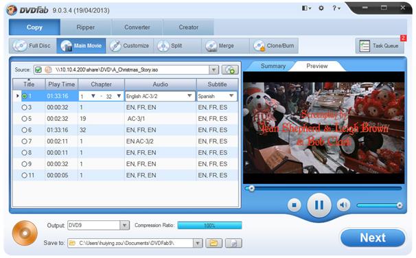 DVDFab - DVD Ripper Software