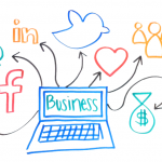 social media boosts business