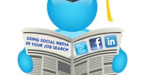 using social media for job