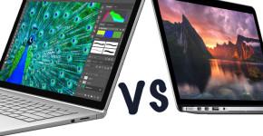 Microsoft Surface Book vs. Apple MacBook Pro