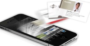 Is technology replacing business cards