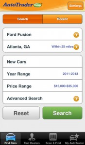 AutoTrader iPhone App