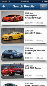 Edmunds iPhone App