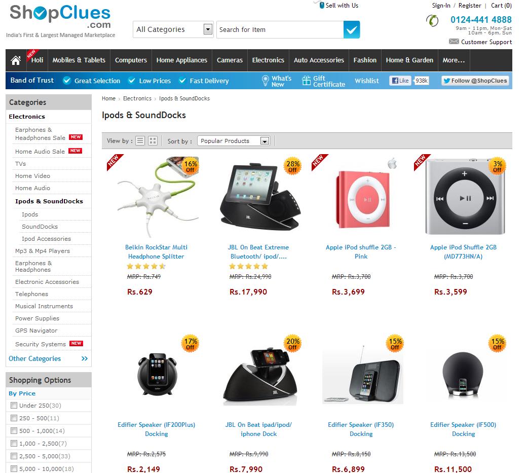 Shopclues Online Store
