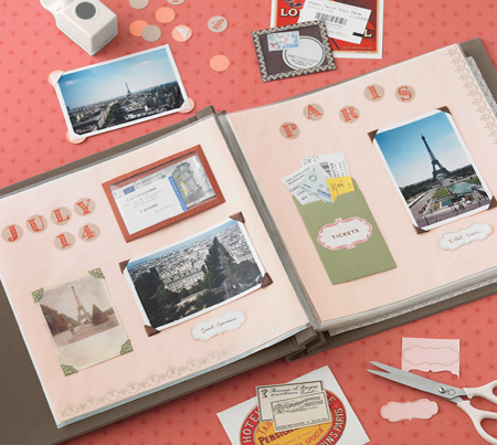 scrapbooking uses