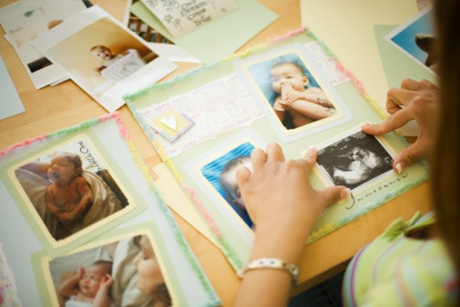 scrapbooking child or baby