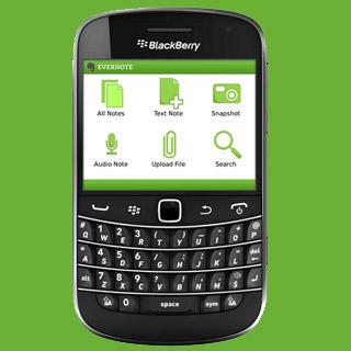 blackberry evernote