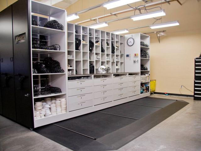 storing equipment