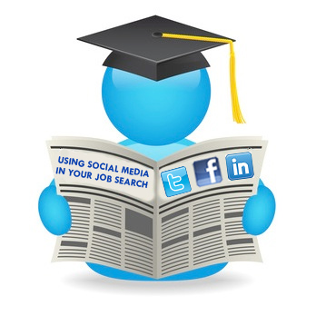 using social media for job