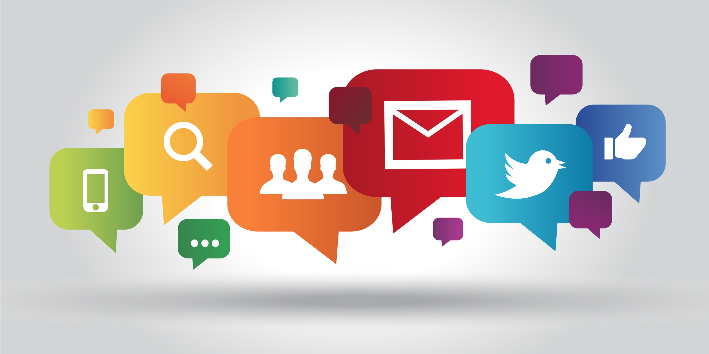 Online marketing can be blended with traditional marketing channels