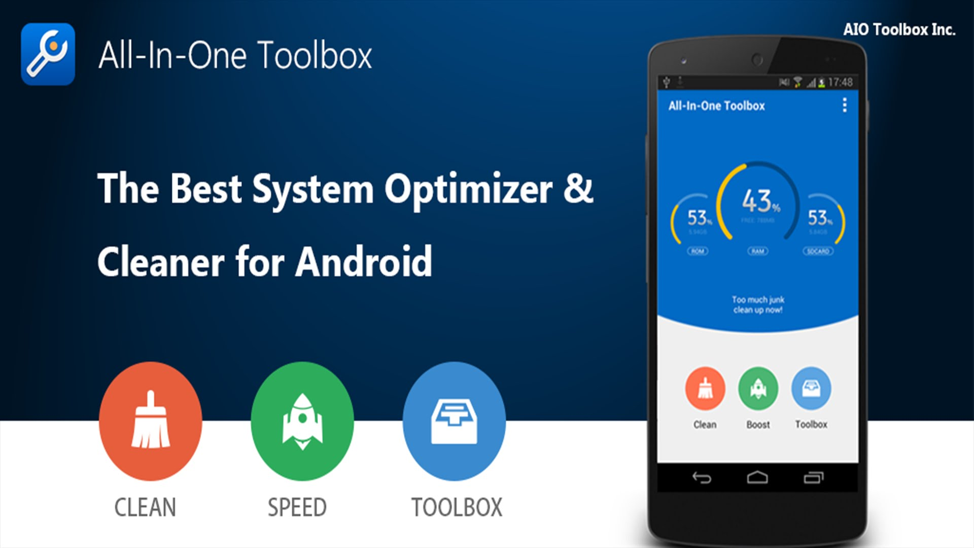 Phone Cleaner & Speed Booster App - Optimize Your Android Device