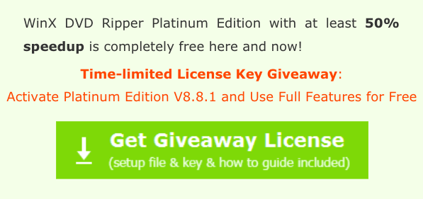 WinXDvD - License Giveaway
