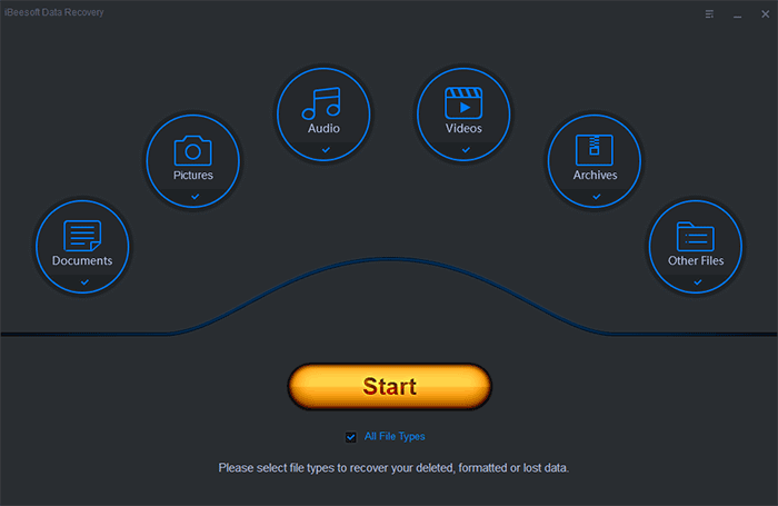 ibeesoft data recovery tool