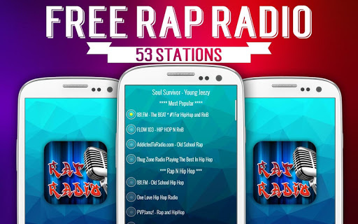 Free Rap Radio - Latest Hip Hop Hits