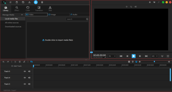 Main Interface of EditFUN