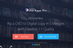 WonderFox DVD Ripper Pro Review--Back up Your Discs