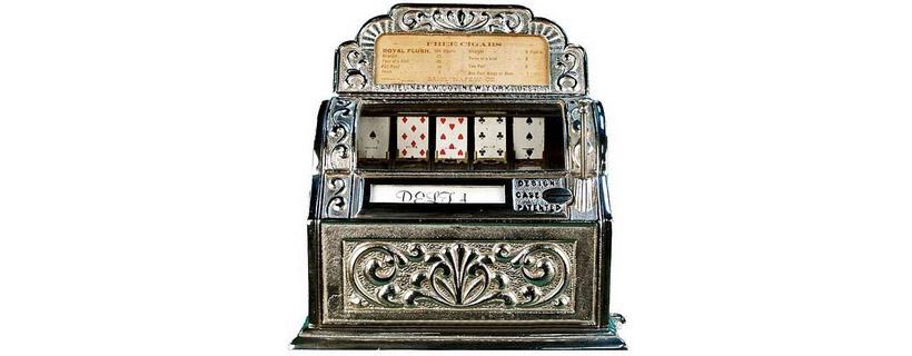 first slot machine