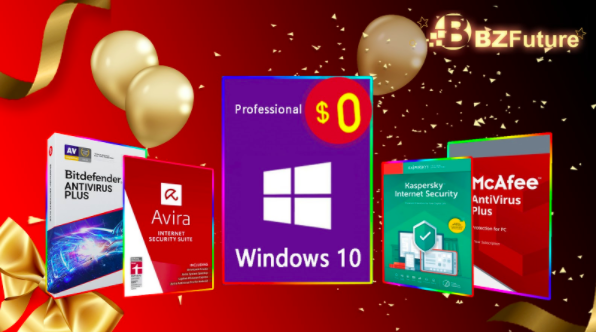 Get Free Windows 10 Pro on BZFuture Black Friday Sale