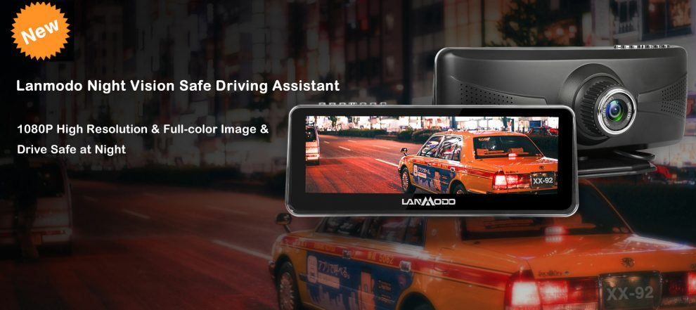 Drive Safely At Night With The Lanmodo Vast 1080P Night Vision System