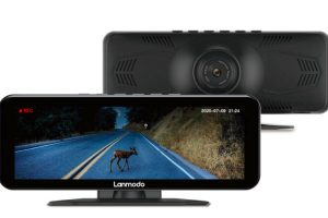 Lanmodo Vast Pro Night Vision System Integrated With Dash Camera