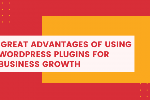 Great Advantages Of Using WordPress Plugins For Business Growth
