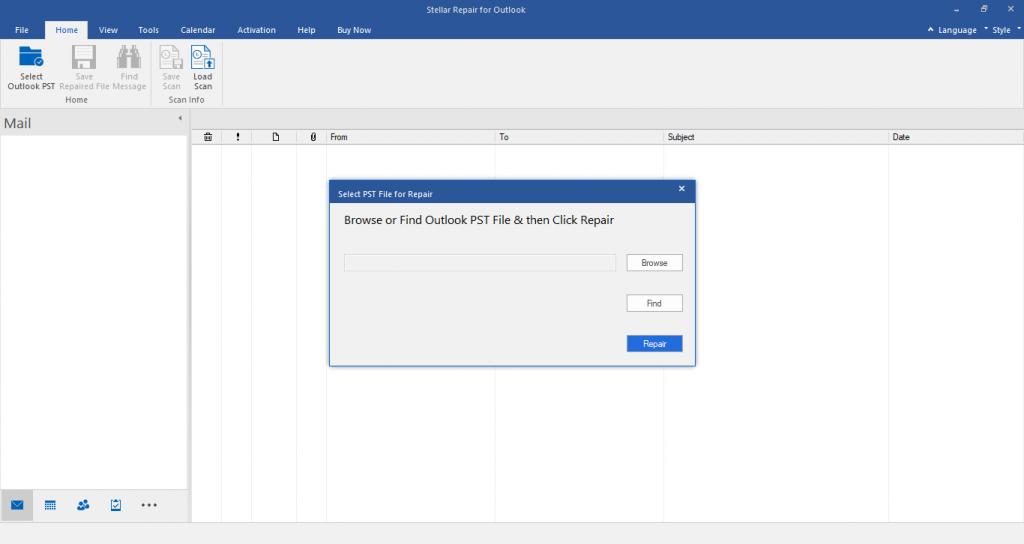 Stellar Repair for Outlook Tool